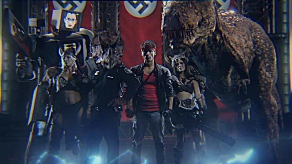 Arnold Schwarzenegger te zien in 'Kung Fury 2'