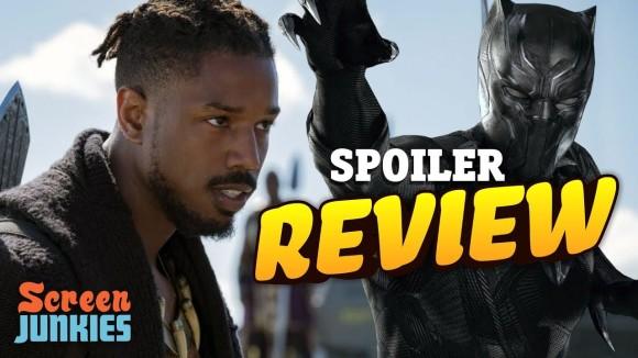 ScreenJunkies - Black panther - review! (spoilers)