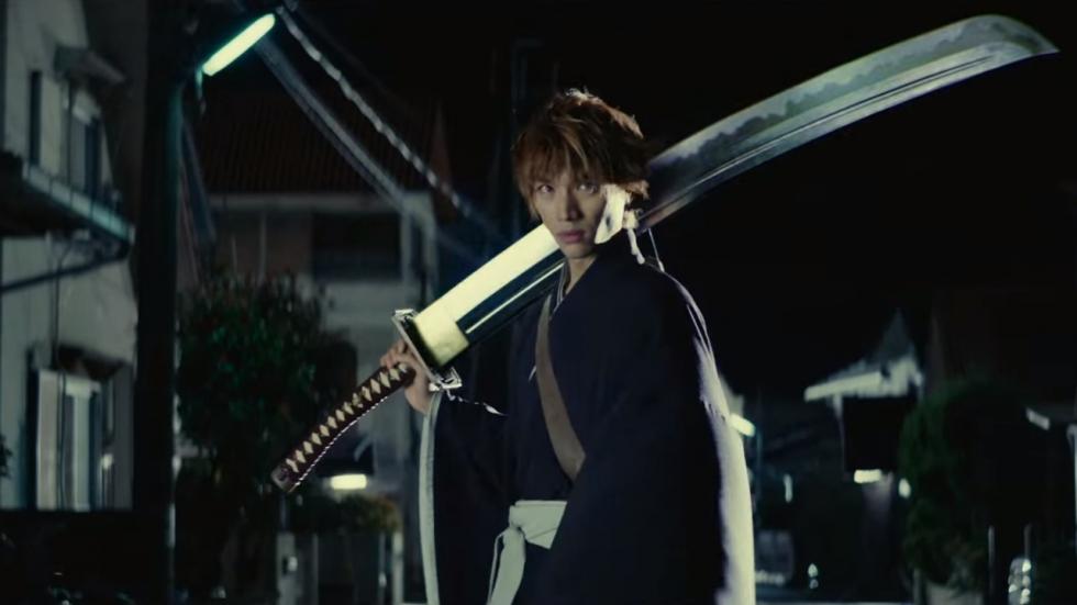 Joekel van een zwaard in trailer manga-film 'Bleach'