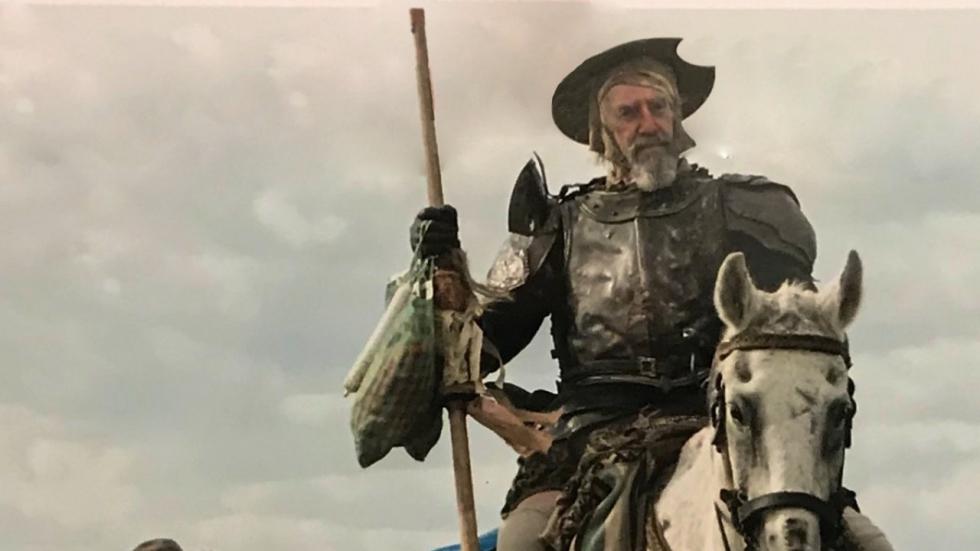 Eindelijk eerste beeld Terry Gilliams 'The Man Who Killed Don Quixote'