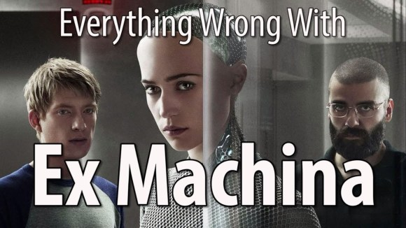CinemaSins - Everything wrong with ex machina 11 minutes or less