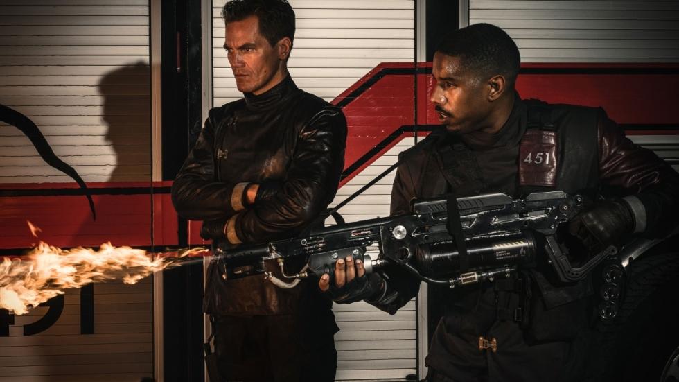 Eerste trailer 'Fahrenheit 451' met Michael B. Jordan