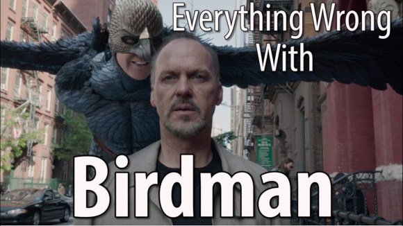 CinemaSins - Everything wrong with birdman in 13 minutes or less