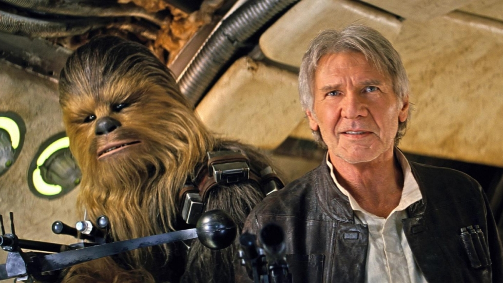 Vertrek 'Star Wars' deed Harrison Ford niets