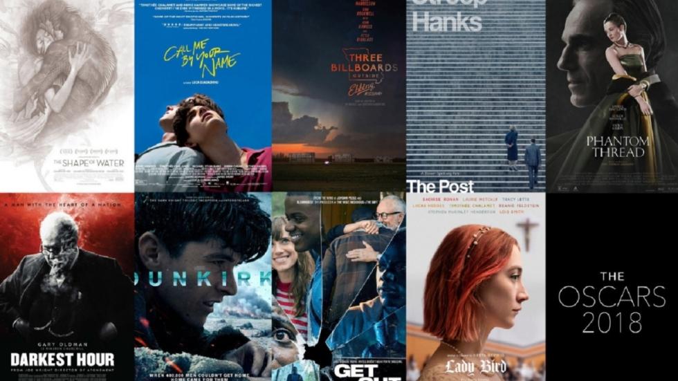 POLL: Welke films winnen de Oscars 2018?