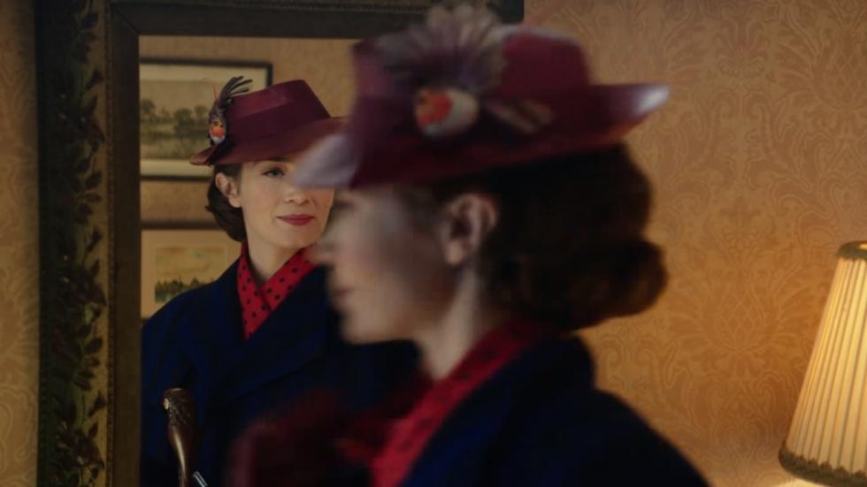 Teaser Trailer en poster 'Mary Poppins Returns' met Emily Blunt'!