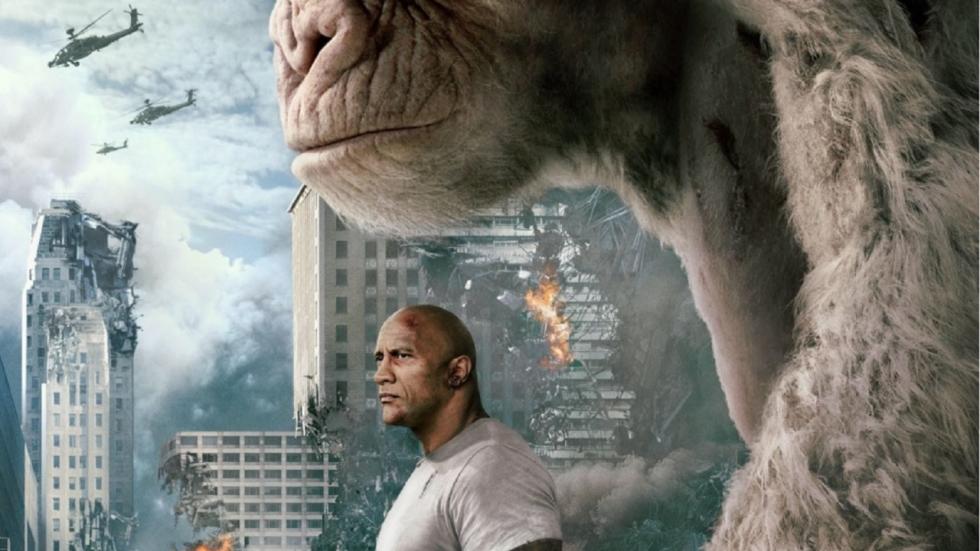 Enige juiste Bad Ass-trailer 'Rampage' met The Rock!