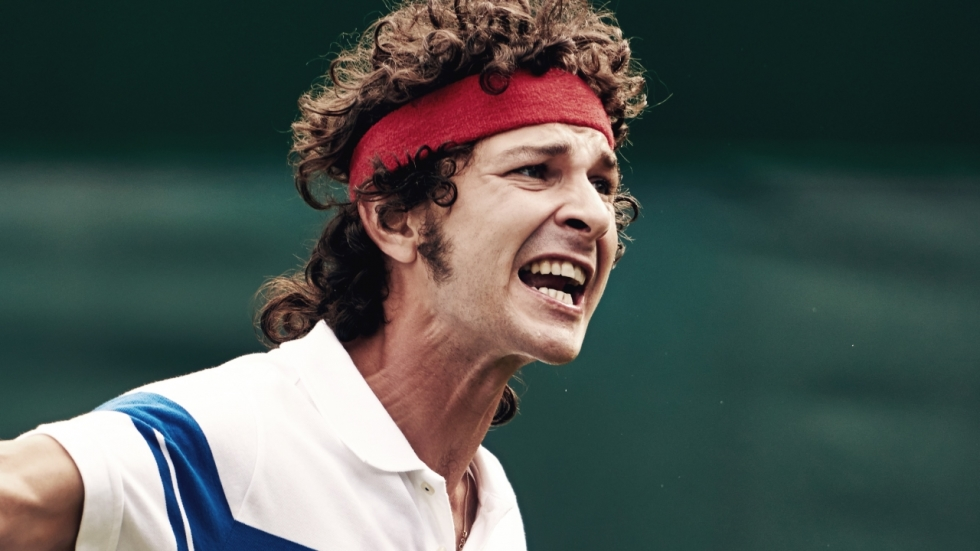 Blu-ray review 'Borg McEnroe' - Shia LaBeouf leeft zich uit