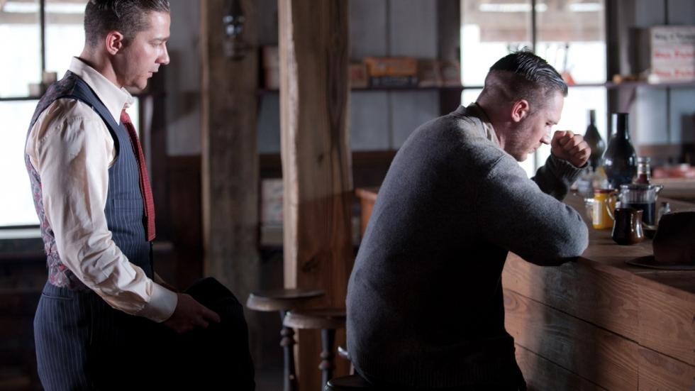 Shia LaBeouf sloeg Tom Hardy neer op set 'Lawless'