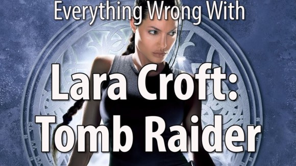 CinemaSins - Everything wrong with lara croft: tomb raider