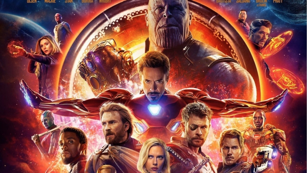 Spectaculaire posters 'Avengers: Infinity War'!