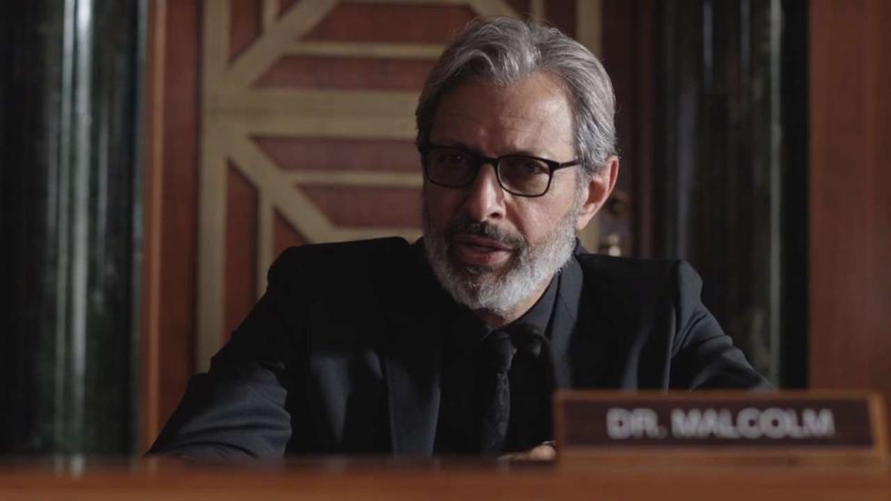 Jeff Goldblum over terugkeer in 'Jurassic World: Fallen Kingdom'