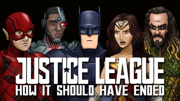 How It Should Have Ended - How justice league should have ended
