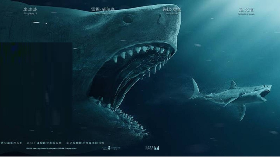 Haaienfilm 'The Meg' - Ga jij naar de bioscoop?