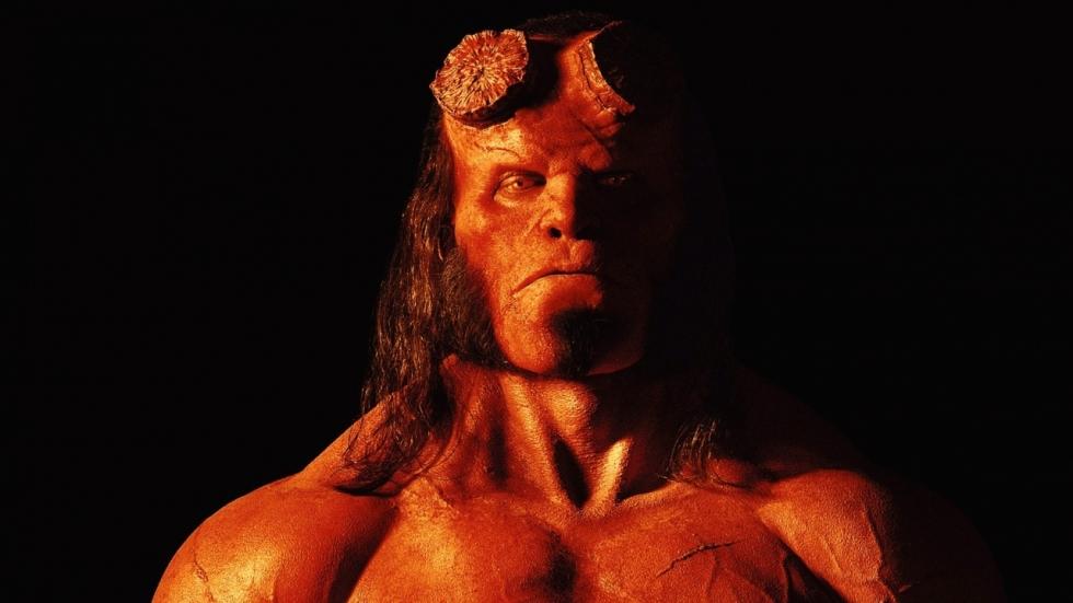 Slechterik op eerste 'Hellboy' poster