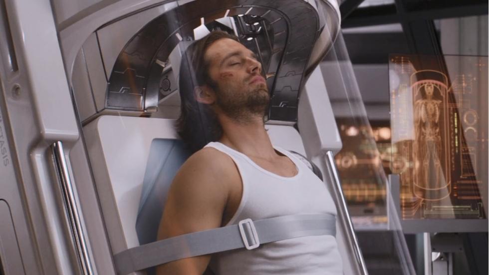 """Sebastian Stan: """"After-credits scene 'Black Panther' was oorspronkelijk veel langer"""""""