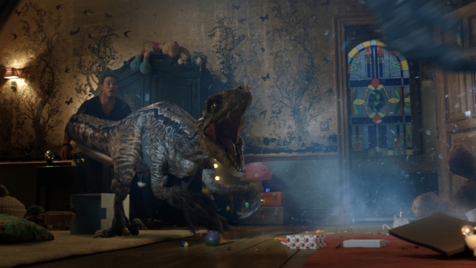 Spannende nieuwe trailer 'Jurassic World: Fallen Kingdom'
