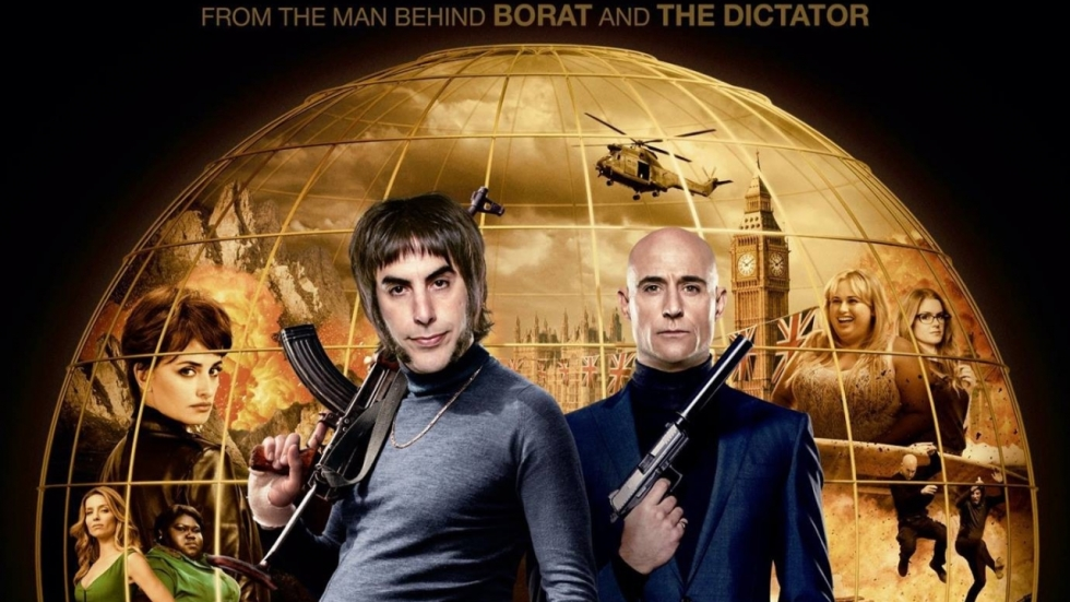 Sacha Baron Cohen & Mark Strong in trailer 'The Brothers Grimsby'