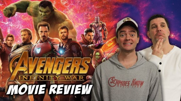 Schmoes Knows - Avengers: infinity war movie review (non-spoiler)