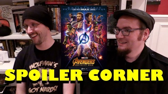 Channel Awesome - Avengers: infinity war - spoiler corner