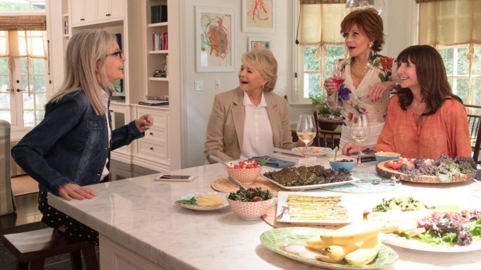 Dames op leeftijd ontdekken 'Vijftig Tinten Grijs' in komische trailer 'Book Club'