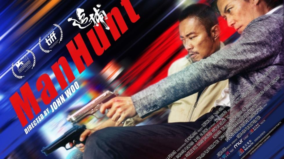 Flitsende Netflix-trailer John Woo's 'Manhunt'