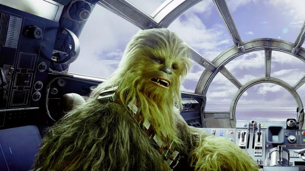 Volledig geschoren Chewbacca is best eng en spuuglelijk