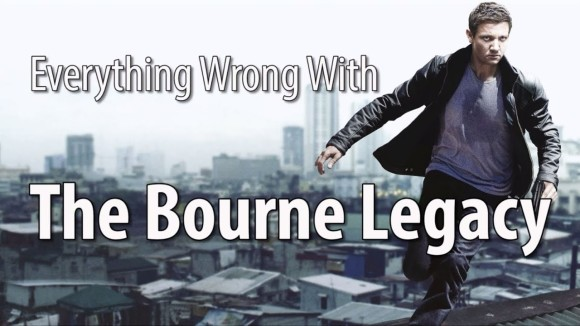 CinemaSins - Everything wrong with the bourne legacy in 15 minutes or less