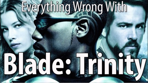 CinemaSins - Everything wrong with blade: trinity in 16 minutes or less