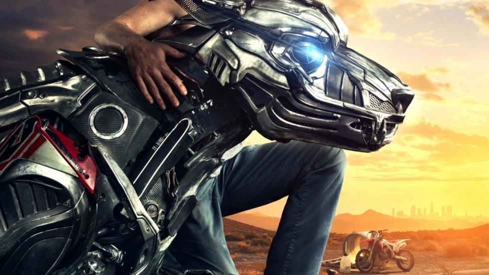 Trailer 'A-X-L' met grote Robo-Dog