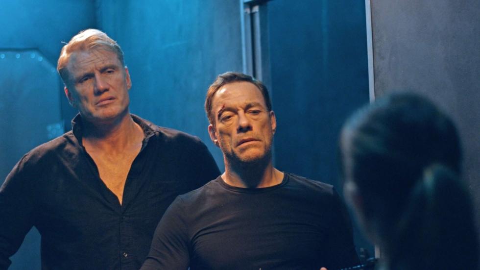 Reünie Van Damme en Lundgren in 'Black Water' trailer