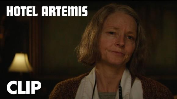 Hotel Artemis - clip: verify your membership