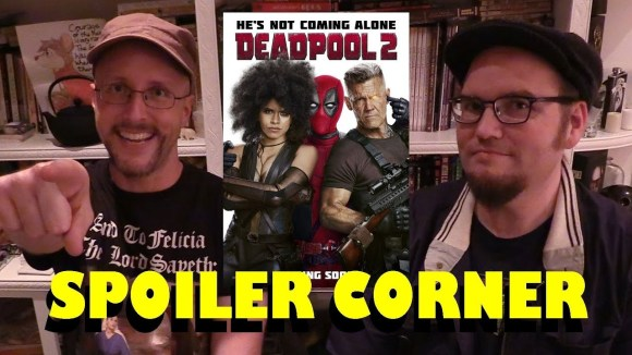 Channel Awesome - Deadpool 2 - spoiler corner