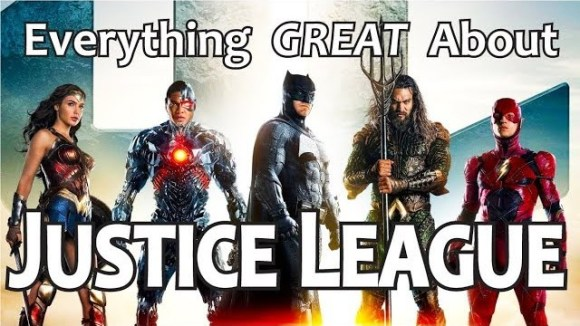 CinemaWins - Everything great about justice league!