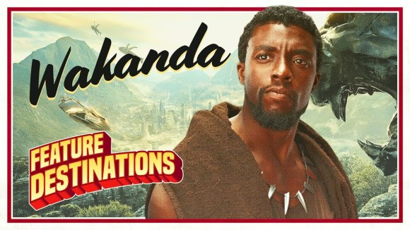 ScreenJunkies - Welcome to wakanda! black panther - feature destinations