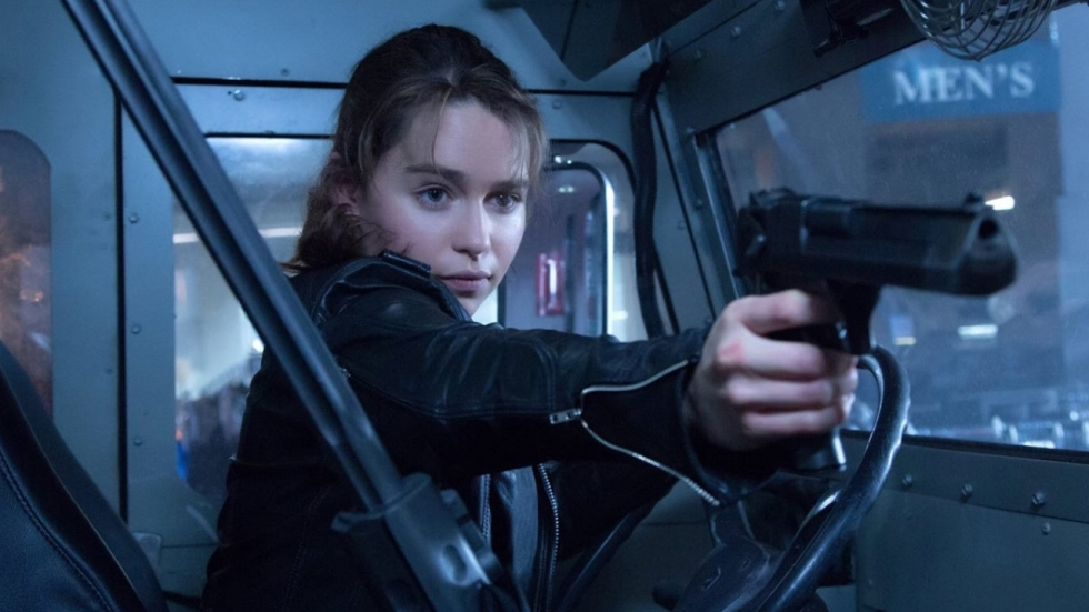 Emilia Clarke was blij met floppen 'Terminator: Genisys'