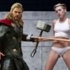 Chris Hemsworth danst intens op muziek schoonzusje Miley Cyrus