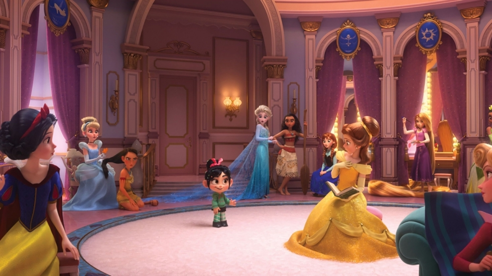 Alle (!) Disney-prinsessen verzameld op één foto voor 'Wreck-it-Ralph 2'