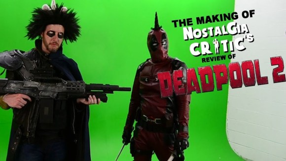 Channel Awesome - Deadpool 2 - making of nostalgia critic