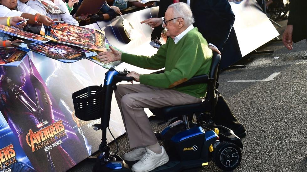 Stan Lee verrast zijn fans!