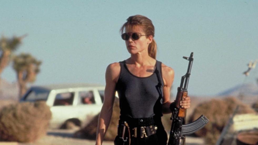 Eerste blik op Sarah Connor in nieuwe 'Terminator'-film!