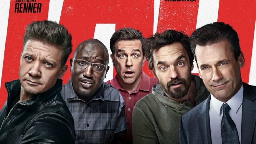 Jeremy Renner onthult hoe hij beide armen brak door komedie 'Tag'