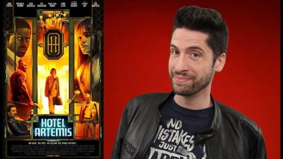 Jeremy Jahns - Hotel artemis - movie review
