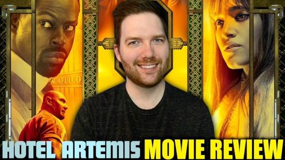 Chris Stuckmann - Hotel artemis - movie review