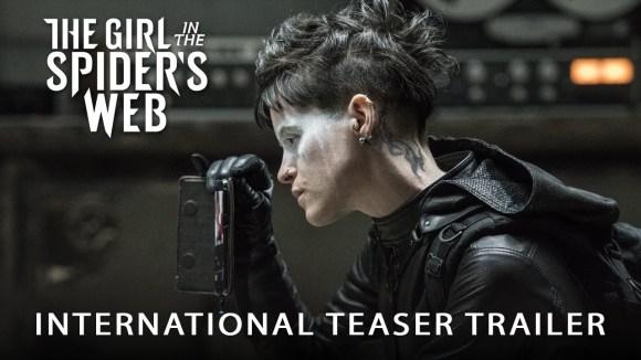 The Girl in the Spider\'s Web - international teaser trailer