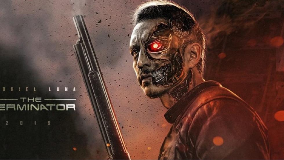 Foto 'Terminator': T-800 acteur en jonge John Connor!