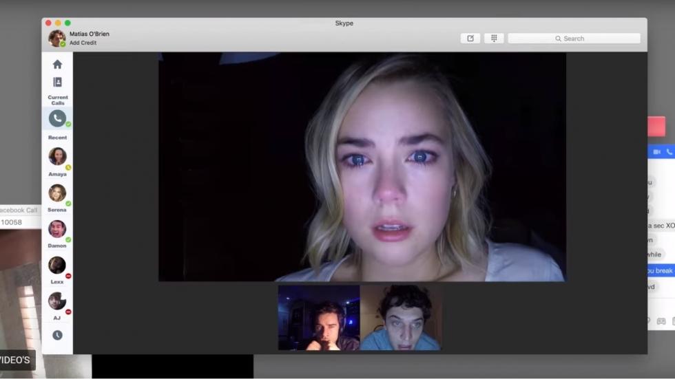 Nog meer chathorror in trailer 'Unfriended: Dark Web'