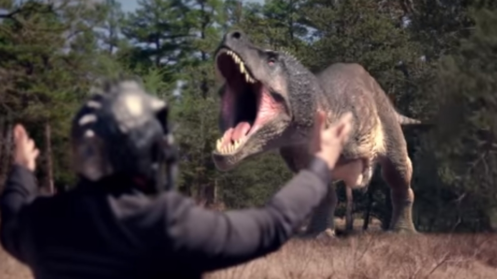 Blu-ray review 'The Jurassic Games' - Hunger Games omarmt Jurassic Park