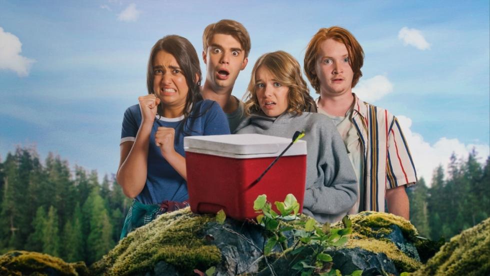 Kamperende tiener raakt zijn zaakje kwijt in komische trailer Netflix-film 'The Package'