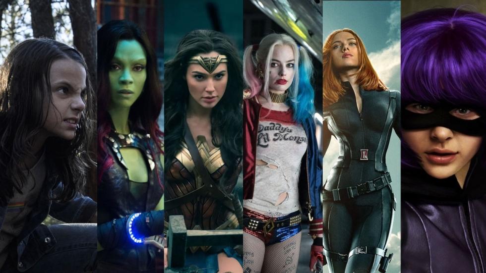 POLL: Vrouwelijke helden en slechteriken in superheldenfilms